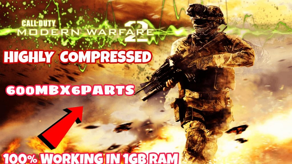 CALL OF DUTY: MODERN WARFARE 2 HIGHLY COMPRESSED FOR PC