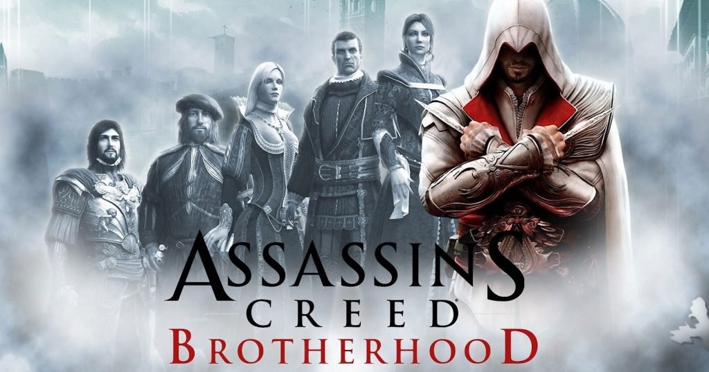 Assassin's creed brotherhood Highly Compressed 600MBX4Parts
