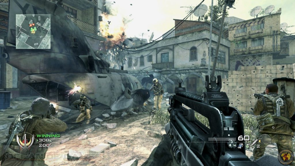 Call of Duty 4 Modern Warfare Highly Compressed 400MBX3Parts
