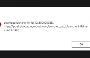 Fix Download Launcher ini Failed (0x500000010) Pubg Pc Lite Error