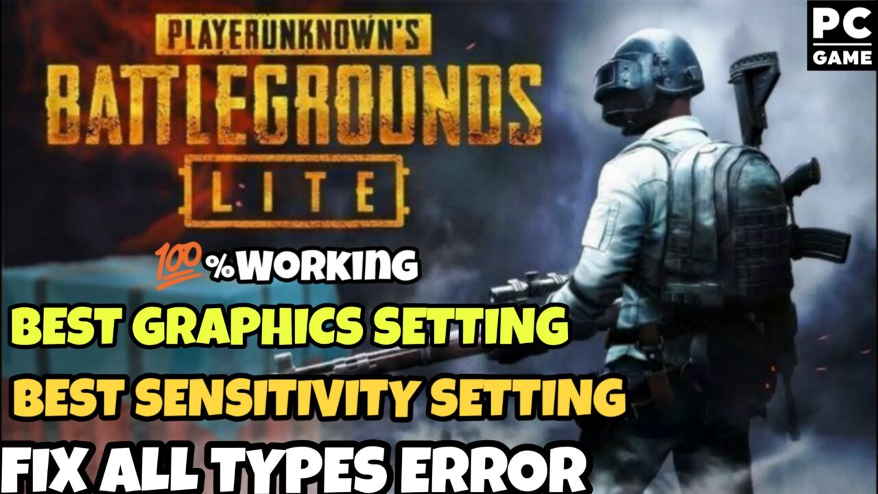 Fix All Types Of Error In Pubg Pc Lite - Technology Plateform